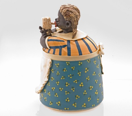 Corn Pipe (Mammy Cookie Jar)